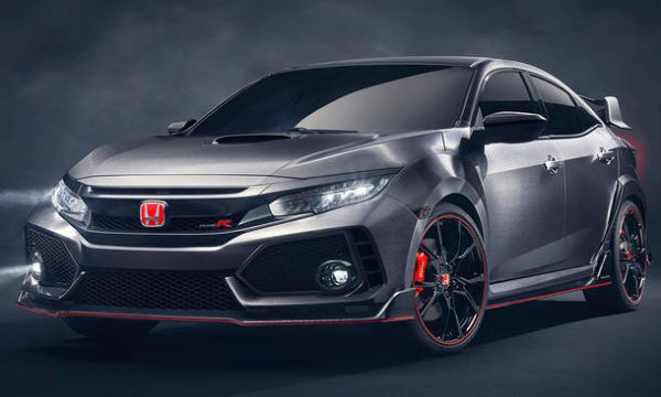 NEW Honda Civic Type R 2017